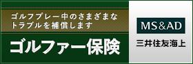 ゴルファー保険 MS&AD + 三井住友海上