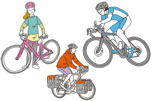 """自分に合う自転車はどれ? """"何に使うか""""で自分にぴったりの自転車が見つかる!"""