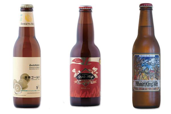 「サンクトガーレン 湘南ゴールド」「南信州ビール アップルホップ」「べアードビール ウィートキング ウィット」|ビール女子に贈る!フルーティで飲みやすい、おすすめクラフトビール5選
