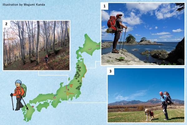 シェルパ斉藤オススメルート|歩いて旅するから出合える景色がある!ロングトレイルが旅のスタイルを変える【アウトドア】