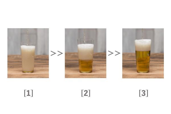 これでグッと美味くなる! 自宅でできる正しいビールの注ぎ方03