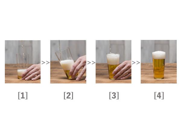 これでグッと美味くなる! 自宅でできる正しいビールの注ぎ方04