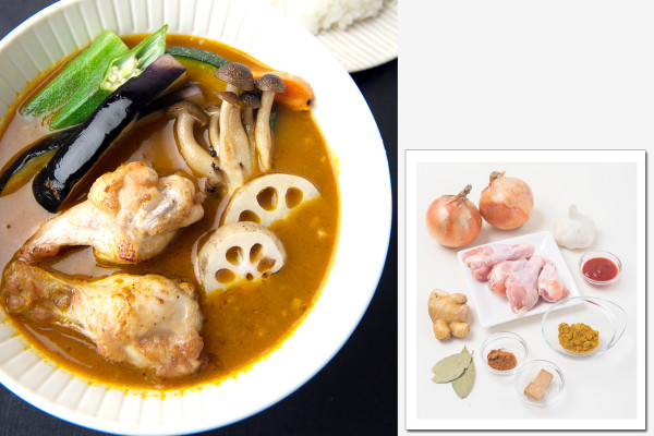 【ご当地カレーを家でつくろう】旨味が凝縮されたベーススープが決め手!「札幌スープカレー」