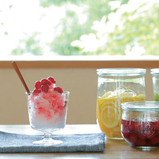 果肉たっぷりかき氷で清涼感もUP!自宅で作れるフルーツシロップ