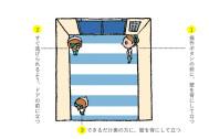 【今日から役立つ! 犯罪対策クイズ】エレベーター内、どこに立つのが正解?