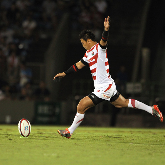 [ラグビーW杯開幕]安定感を増したキックでジャパンを支える。不動のフルバック・五郎丸歩