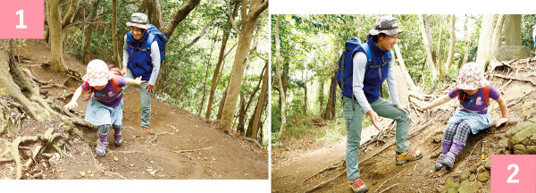 """[親子ではじめてのハイキング]""""自分で歩けた""""の気持ちを大切に大人ができるサポート術"""
