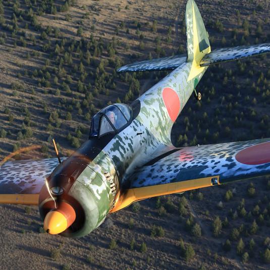【世界に1機だけ】ゼロ戦の好敵手、飛行可能な陸軍の『隼』が存在する!?
