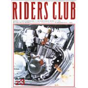 RIDERS CLUB 1979年2・3月合併号 No.9