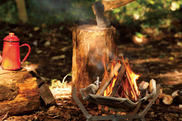 『火』点けられますか? 焚き火の魅力、再確認