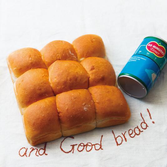 60分で作れる! ちぎりパン