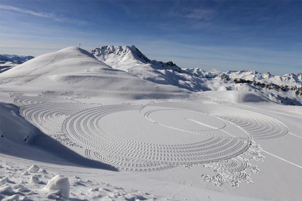 雪原に広がる絶景! 日本初上陸のスノーアートを見に行こう【2月6日~14日】