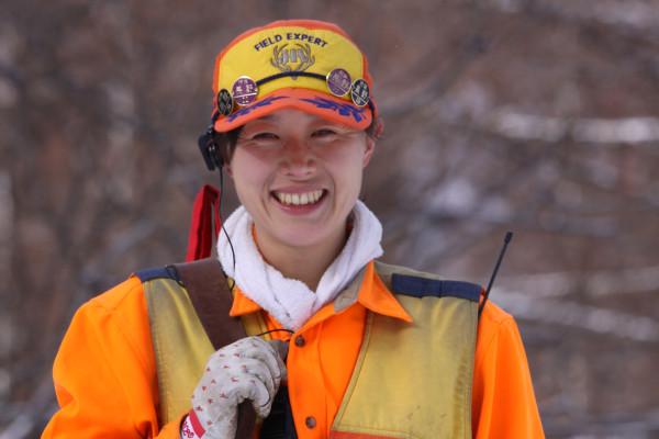 木こり系女猟師、原薫さんが笑顔でつなぐ山の命