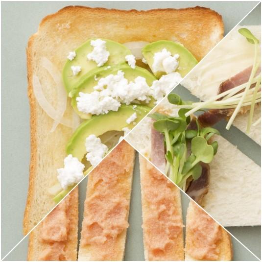 いつもとひと味違う食パンはいかが?【簡単アレンジレシピ】