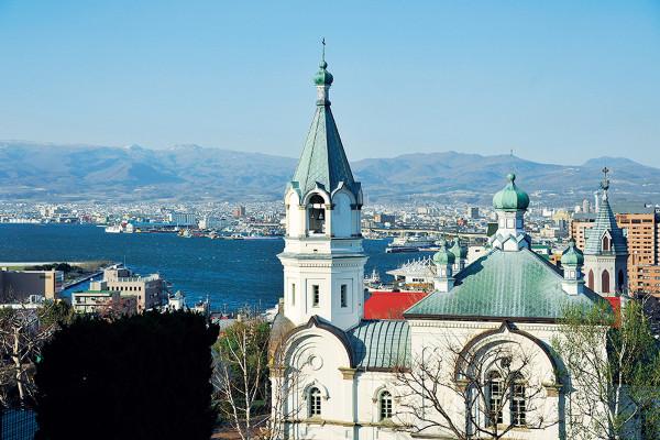 函館ハリストス正教会|新幹線で北海道へ! 異国情緒あふれる函館で洋館・教会めぐり散歩