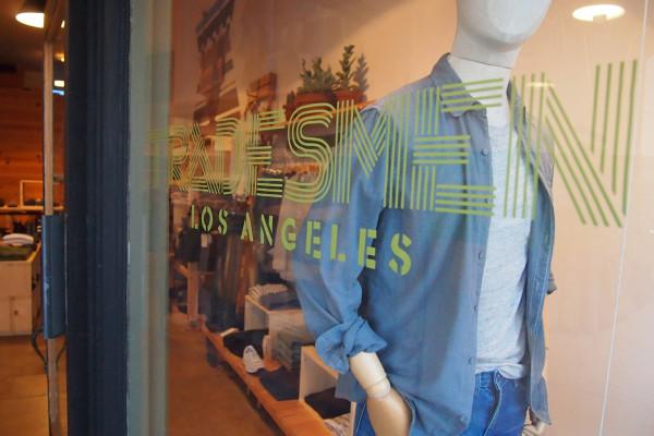 LAの人気セレクトショップクルージングと売れ線アイテム調査の旅 #3 TRADESMEN LOS ANGELES