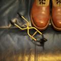 重いエンジニアブーツでも吊るせる、超強力なブーツハンガーを見つけた