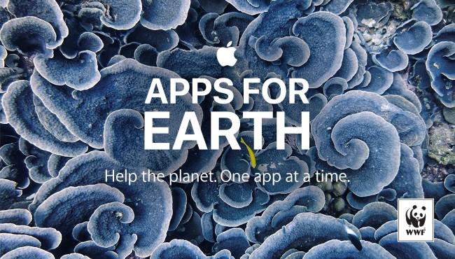 アップルEarth Dayを前に、27アプリの売り上げを全額地球環境保護に