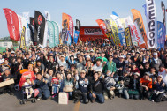 2500台以上のバイクが集まったバイク乗りの祭典【BikeJIN春祭り2016】