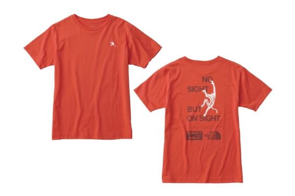 ザ・ノース・フェイスのTシャツで、視覚障害者クライマーを支援!