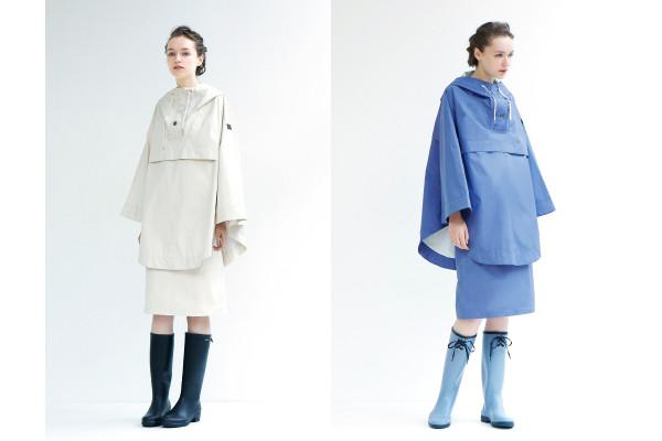 「エーグル」と「アダム エ ロペ」コラボの女性向けレインウェア発売