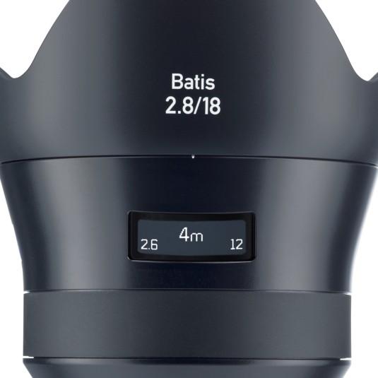 カールツアイス、「ZEISS Batis」シリーズからオートフォーカス対応超広角単焦点レンズ『Batis 2.8/18 E-mount』発売