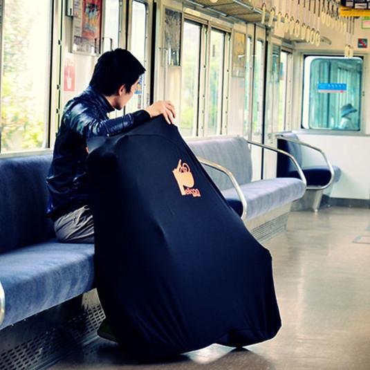 「ファスナーが締まらない」あるあるを解決! ドッペルギャンガーから伸びる輪行キャリングバッグを発売