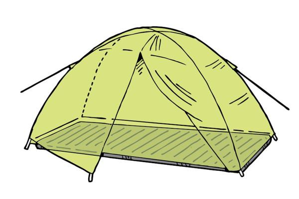 テント泊を快適、上手に過ごすためのコツ【「テントが破れた!」の応急処置は?】