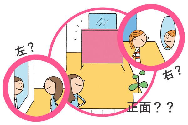 運勢が変わる! 玄関の鏡は右側・左側・正面、どこに置く?