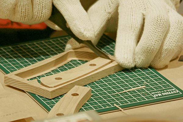 オリジナルナイフを手作りできる 本格派小刀(ナイフ)キット『It's my knife・ホオ』が新発売
