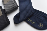 【2nd編集部の気になるアイテム】手縫い仕上げのソックス「ラコタハウス×グレンクライド」