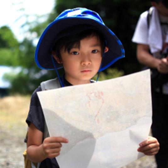 【イベント情報】ザ・ノース・フェイスがキッズ・ネイチャー・スクール『ファミリーロゲイニング in 交野山』の参加者を募集