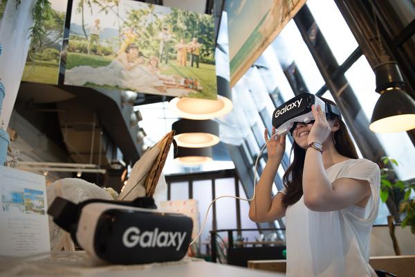 ワタベウェディングの全国店舗で『Gear VR』を使ったバーチャルハワイウェディング体験を導入