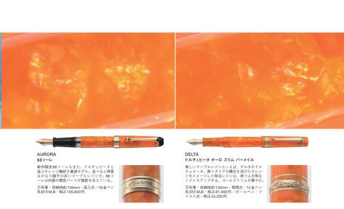 左のアウロラ88ソーレの画像が間違っておりました。正しい画像を組み込んだ状態はこちらです。