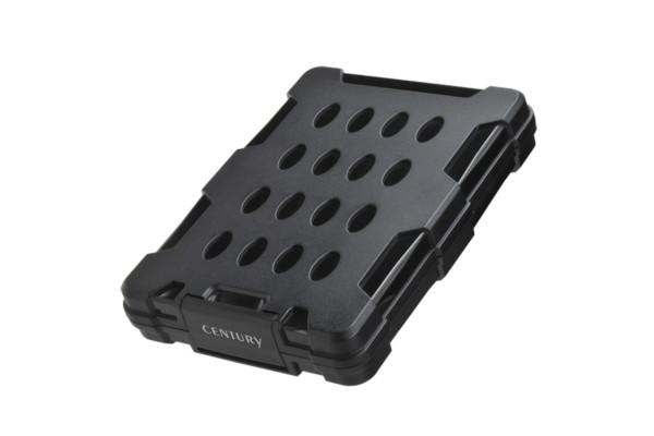 【新製品】センチュリー、米軍規格準拠の耐衝撃性ハードディスクケース『G–BOX2.5 USB3.1』発売