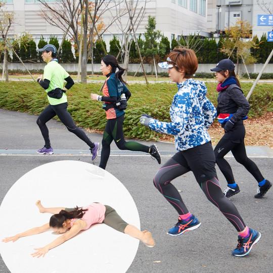 『ランニング・スタイル』×『夢の360°開脚を叶える本』  「360°開脚でラクに走る!」ランニング教室