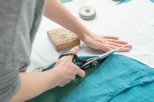 1日で完成! 簡単おしゃれなオリジナルエプロン作り|『暮らし上手のお裁縫』体験ワークショップ