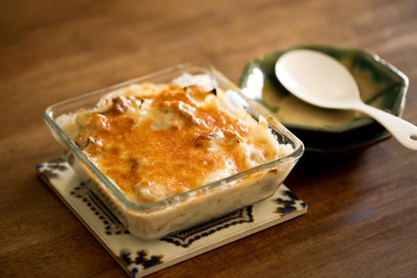 とろ~り熱々! 冬の味覚で作る料理家さんの人気グラタンレシピ3選