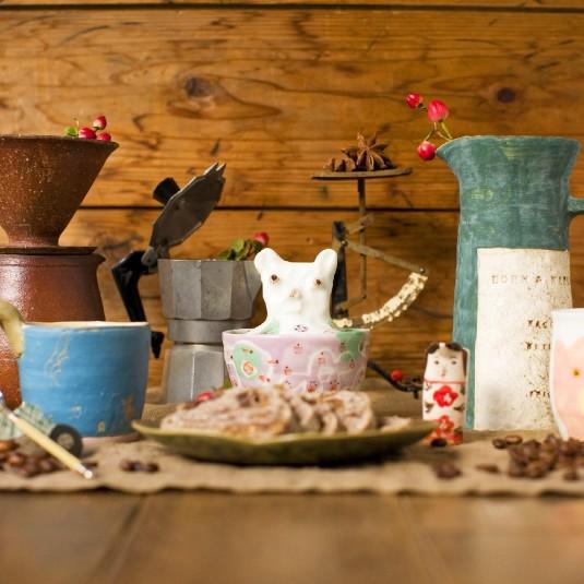 【イベント】コーヒー好き必見の器展がアートスペース油亀(岡山県)にて開催中