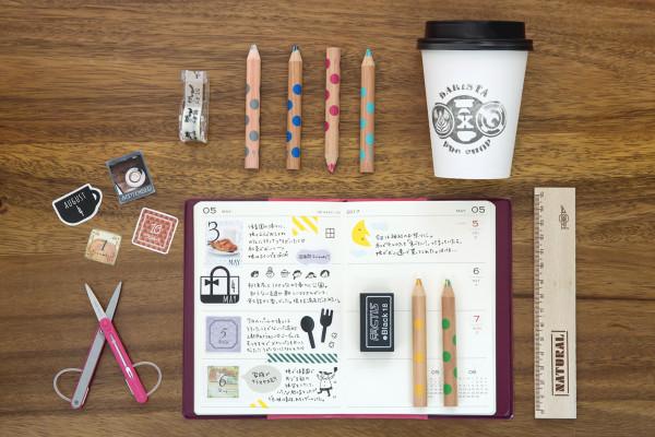 切って貼って手帳をデコって楽しむ、インスタグラム生まれの「日付シート」って何?