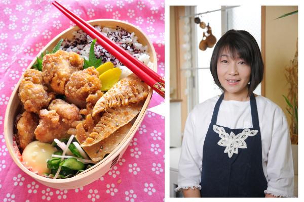 冷めてもOK! 長谷川りえさんが教える「から揚げ弁当」の作り方