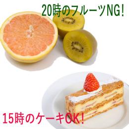 20時のフルーツより15時のケーキ! 日常に組み込む正しい『痩せグセ』