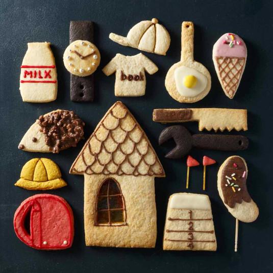 工作みたい! 「デコクッキー」をホットケーキミックスと牛乳パックで作ろう