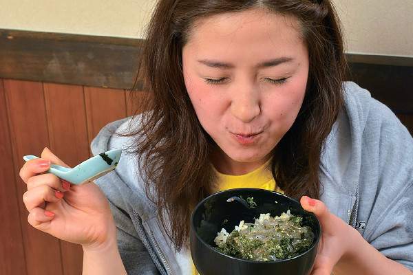 多聞恵美のうまいもんオカワリ!! 「和歌山県湯浅町・醤油発祥の地の一期一会グルメ生しらす丼!」