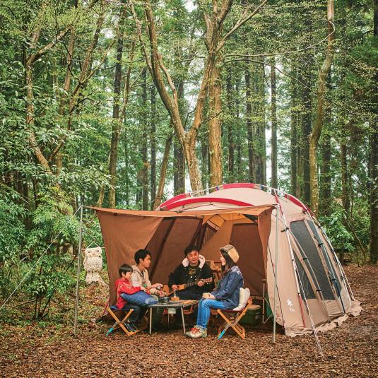家族みんなでにぎやかに! オールシーズンキャンプを楽しむ
