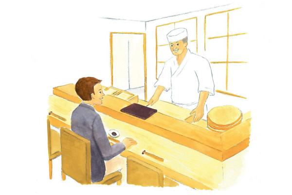 手と箸、握りを食べる作法の正解は? 恥をかかない、寿司屋の心得