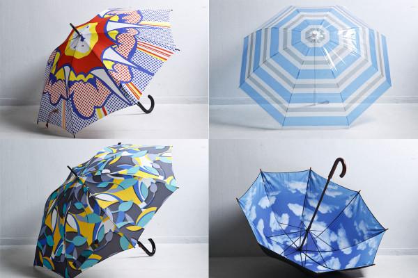 男を洒脱に見せる『柄モノ傘』。これで梅雨スタイルを格上げ