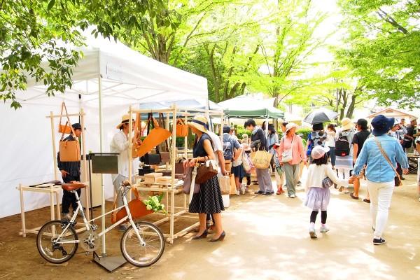 【イベント】5/27~28「クラフトフェアまつもと2017」開催! 緑が気持ちいい空間で一期一会の作品に出会える