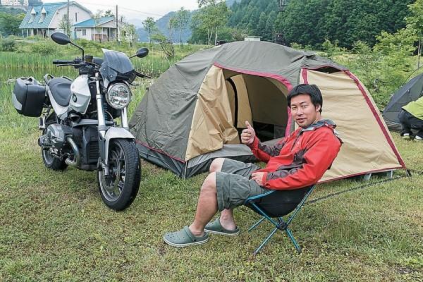 「キャンプツーリングやめられないワケ」バイク雑誌編集長の場合。