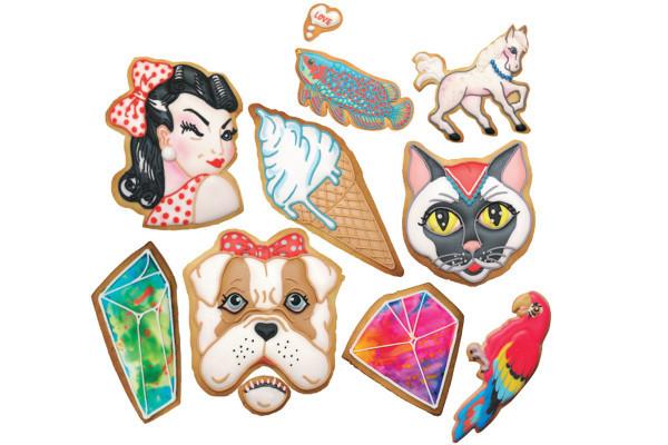 ポップでキュート! 大人も子供も笑顔になる『アイシングクッキー』の世界